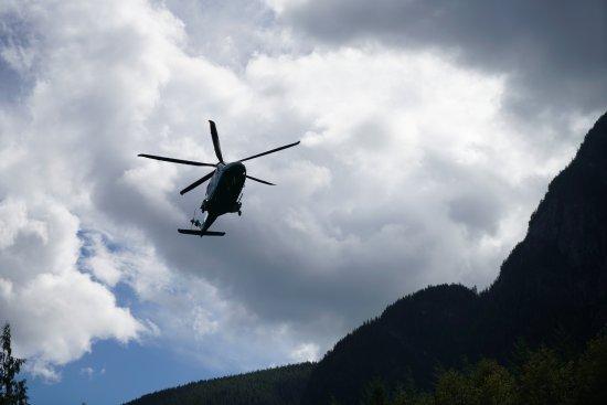 Sonora Island, Kanada: バンクーバー行きヘリコプター
