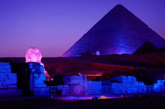 Sound and Light Show of Giza Pyramids...