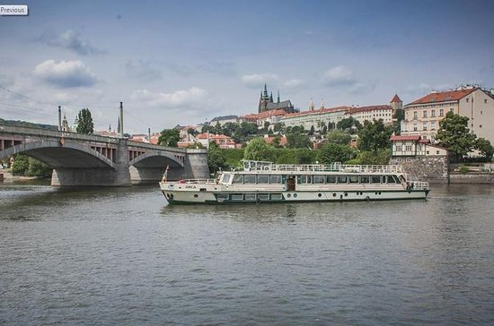 Vltava River Sightseeing Cruise in...