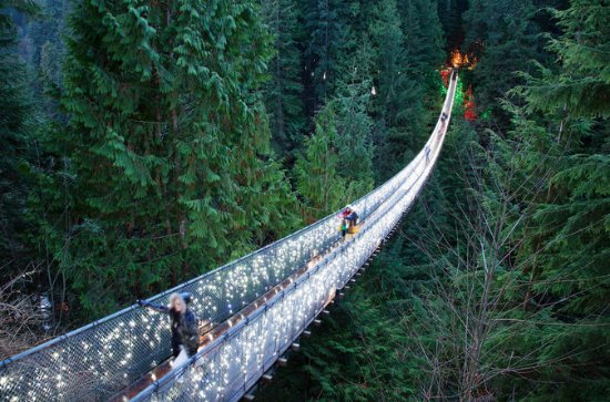 Vancouver City en Capilano Suspension ...