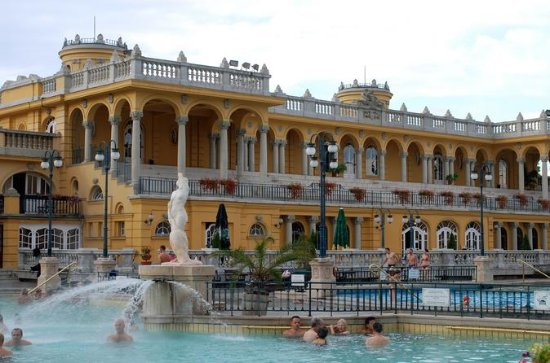 One Day Luxury Tour with Limousine, Champagne and Thermal Spa in...