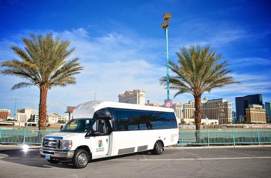 Private Las Vegas Airport Transfer: 24 Passenger