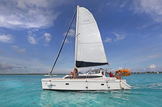 Cozumel Luxury Catamaran Tour with Kayaking and Snorkeling