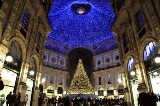 Visite nocturne à pied de Milan de...