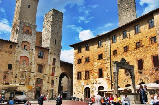 Full Day Private San Gimignano and...