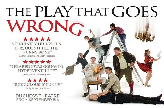 The Play That Goes Wrong Theater Show...