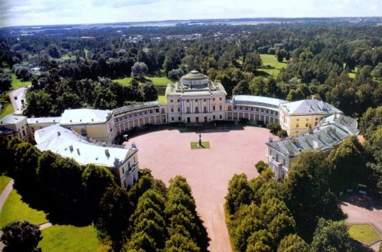 Pavlovsk Palace and Parks Guided Tour