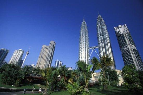 Kuala Lumpur Petronas Twin Towers...