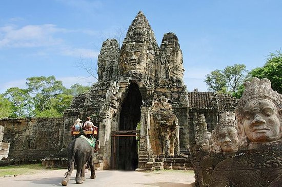 Private Angkor Temples Full-Day Tour...