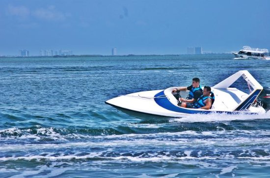 Cancun Self-Drive Speedboat Adventure...