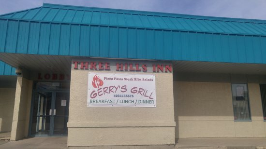 Three Hills, Canada : A newly open  all day breakfast restaurant that serve pizza, pasta, soup, ribs, steak, pies and