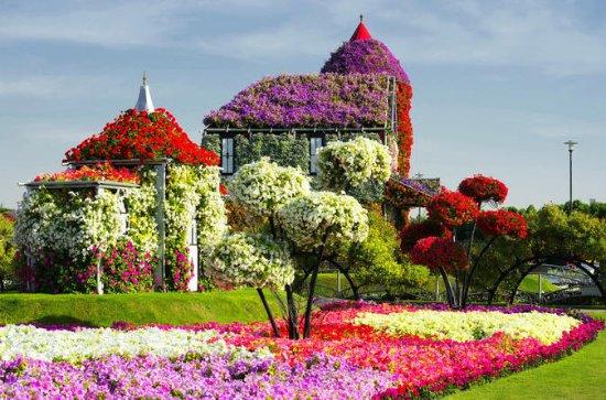 Miracle Garden y Global Village de Dubái