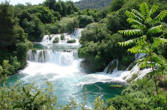 National Park Krka Waterfalls...