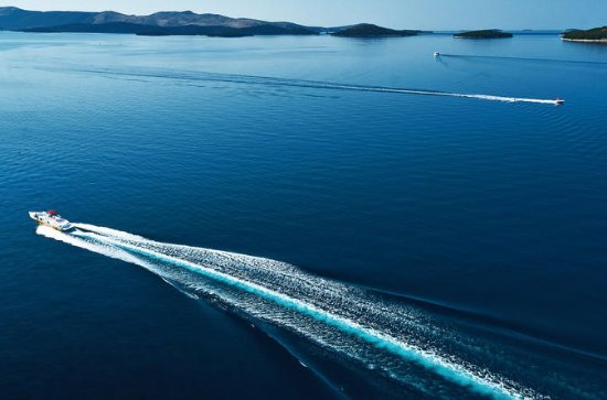 Beach Jagt Båd Full Day Tour fra Zadar