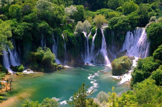 Herzegovina, Medugorje, and Kravice Falls Private Day Trip from...