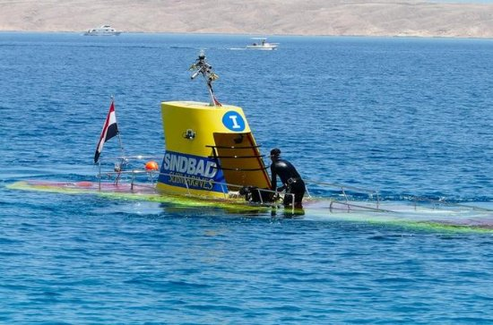 Sindbad Submarine Tour in Hurghada