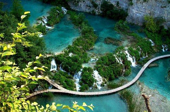 Natural Plitvice Lakes National Park...