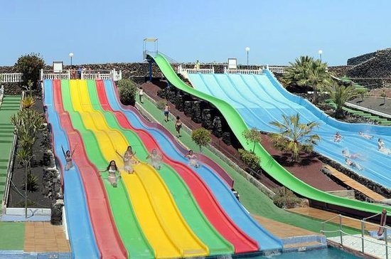 Aquapark Costa Teguise Entrance and...