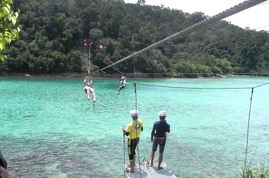 The Coral Flyer Zipline Adventure a