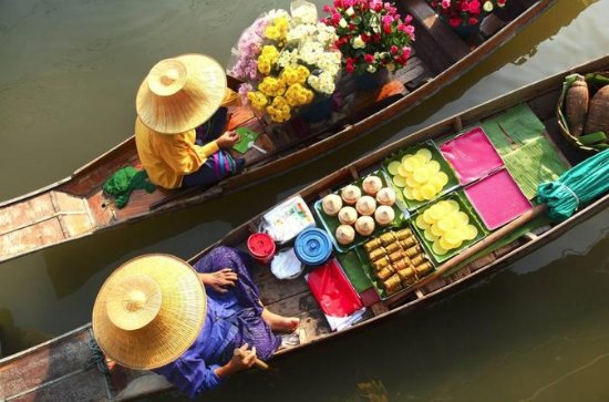 Private Tour: Damnoen Saduak Floating...
