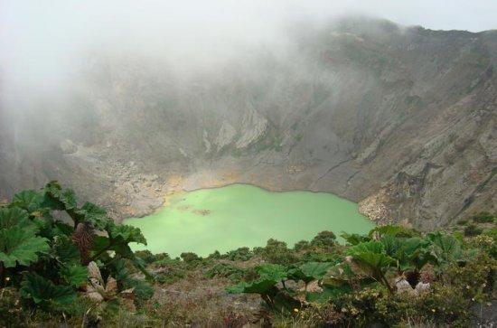 Viagem de um dia ao vulcão Irazú...