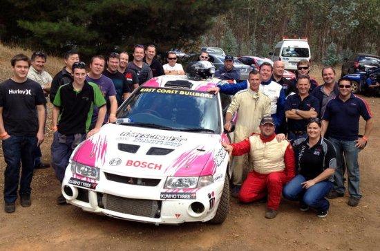 Barossa Rally Car Drive 2 Car Blast...