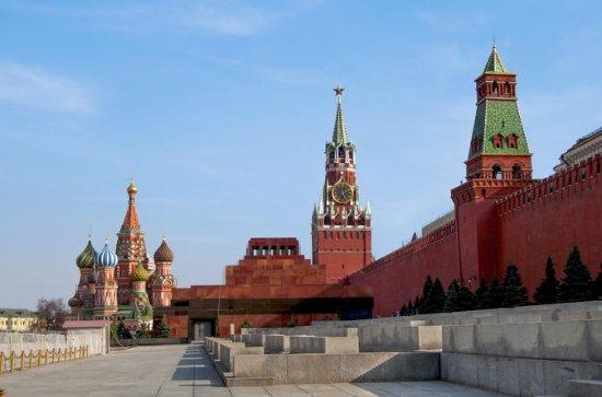 Roter Platz und Kreml in Moskau