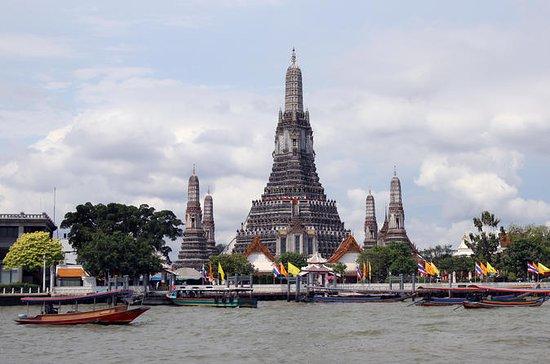 Tour de medio día guiado por Bangkok en transporte público