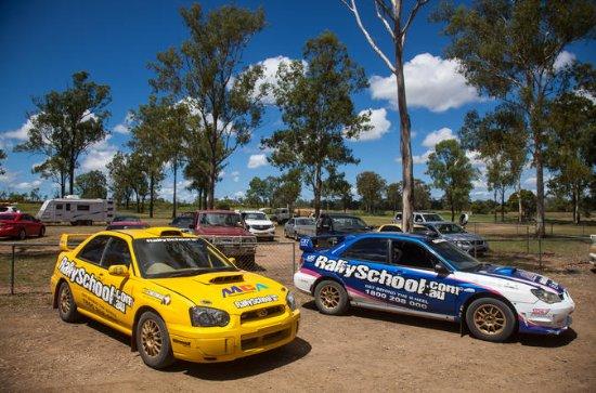 Western Australia Rally Car 16 voltas...