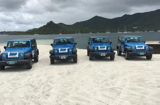 4x4 Island Sightseeing Tour in St...