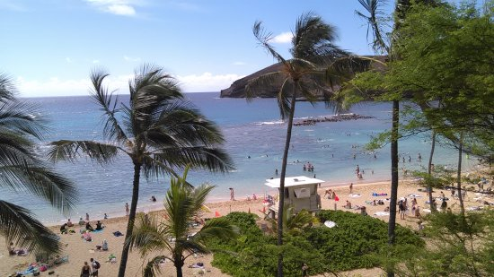 Hanauma Bay Nature Preserve: View from the road