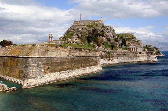 Privétour: Corfu-stad en Achillion ...