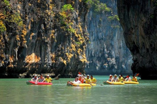 Full Day Sea Canoeing in Phang Nga Bay