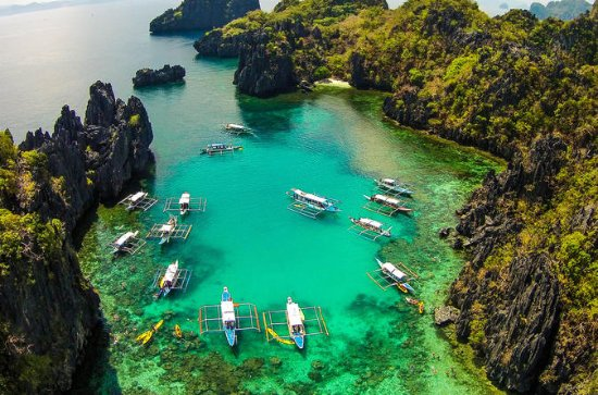 El Nido de isla en isla: por lagunas...