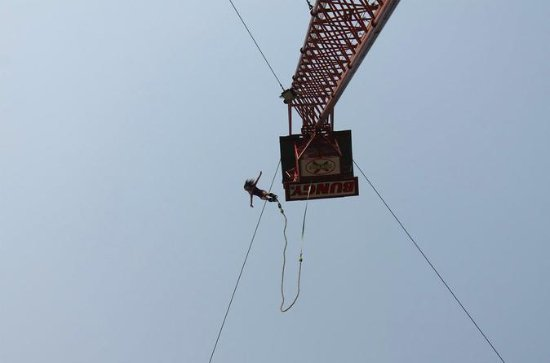 Bungy Jumping at Pattaya