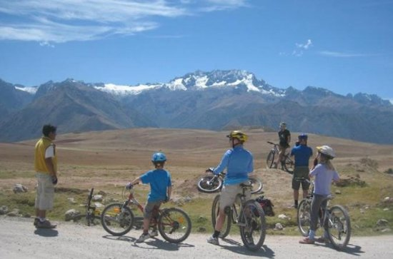 Maras Salt Mines and Moray Biking...