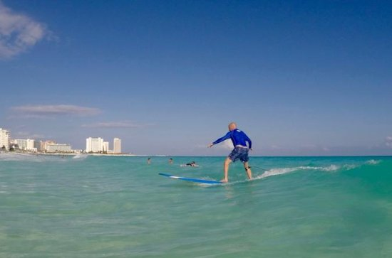 Small-Group Surf Lesson in Cancun with a Certified Instructor: Small-Group Surf Lesson in Cancun with a Certified Instructor