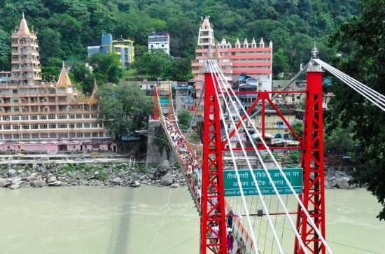 Tour espiritual privado de Rishikesh...