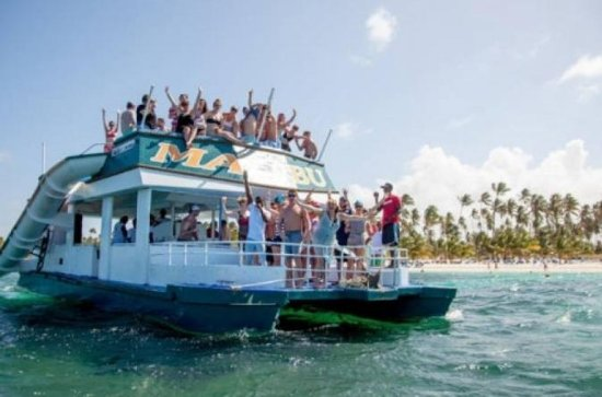Bounce Boat Booze Cruise in Punta Cana