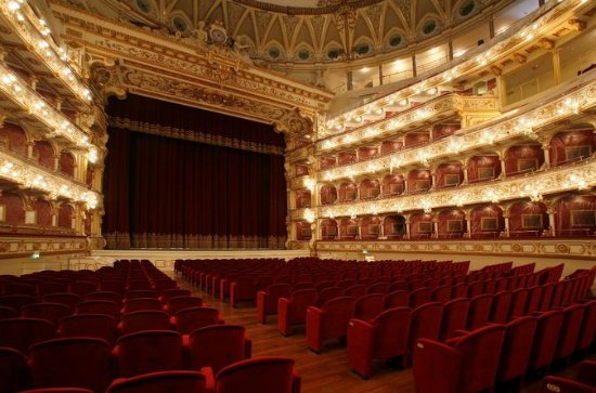 Opera at Teatro Petruzzelli with Bari