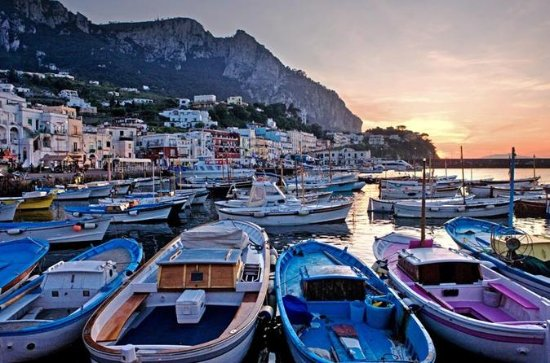 Capri by Boat