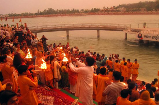 Private Tour: Ganga Aarti Hindu...