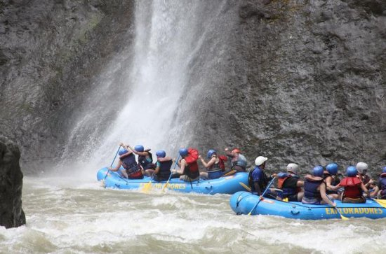 Class III-IV White-Water Rafting on...