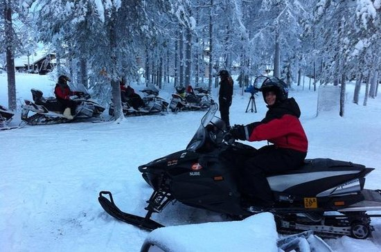 Off the Beaten Track Snowmobile