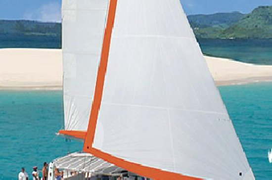 Isle aux Cerfs Catamaran Cruise with...