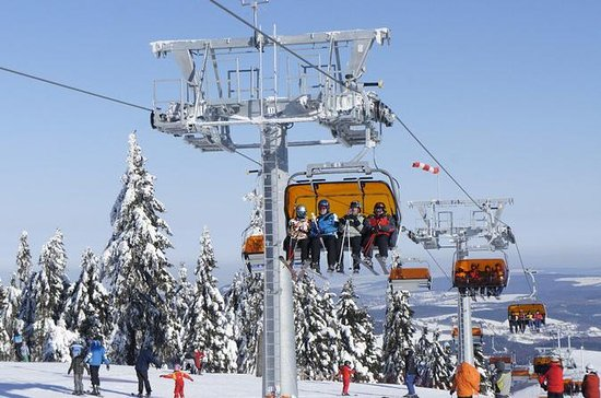 Full-Day Skiing on Klínovec Tour from...