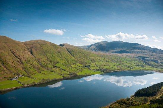 Snowdonia Landschaften und Caernarfon...