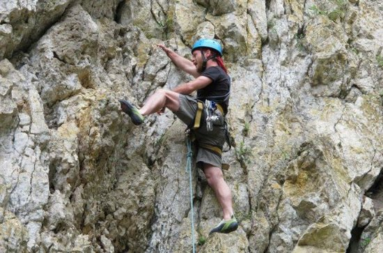 Full-Day Rock Climbing Tour in...