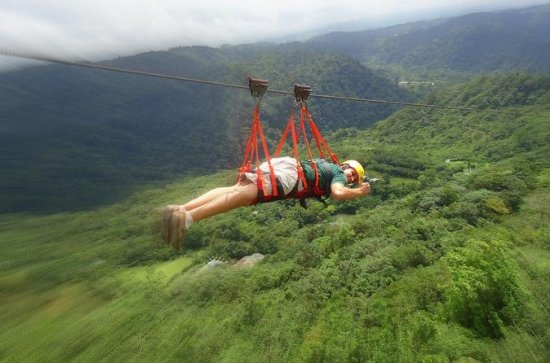 Canopy Tour with Superman and Tarzan Swing in La Fortuna
