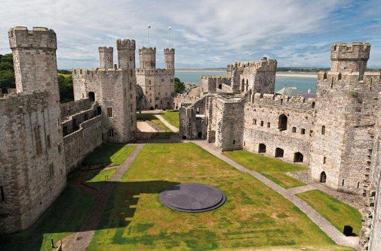 Snowdonia Scenes en Caernarfon Castle ...
